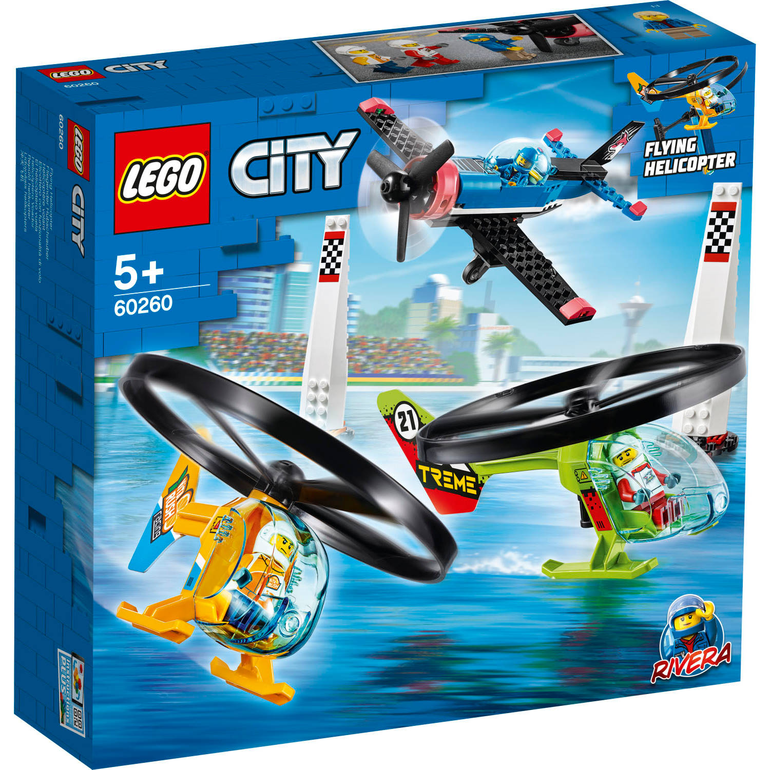 60260 Lego City Luchtrace