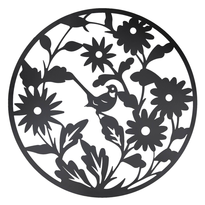 Clayre & Eef Wanddecoratie bloemen Ø 99 cm