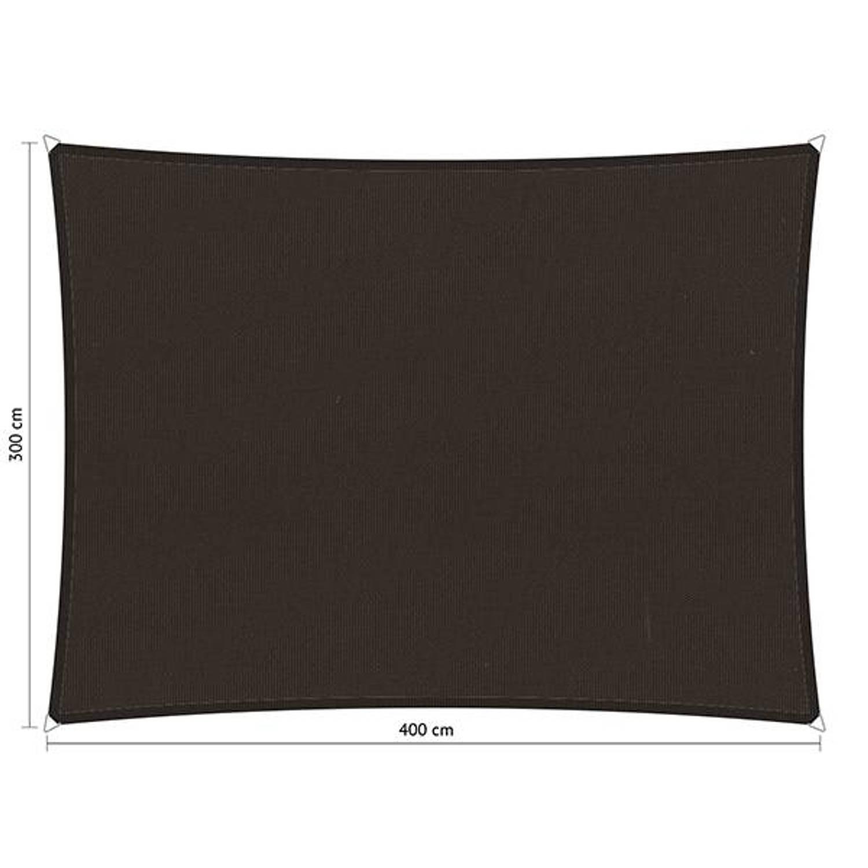 Shadow Comfort waterafstotend rechthoek 3x4 Bison