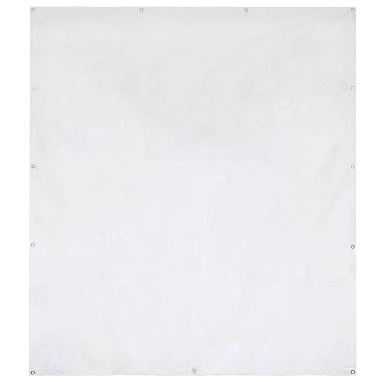 vidaXL Partytent zijpaneel 550 g m² 2x2 m PVC wit