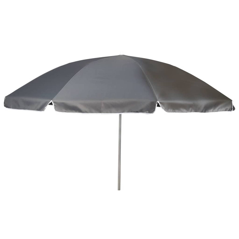 Bo Camp Parasol 165 cm grijs