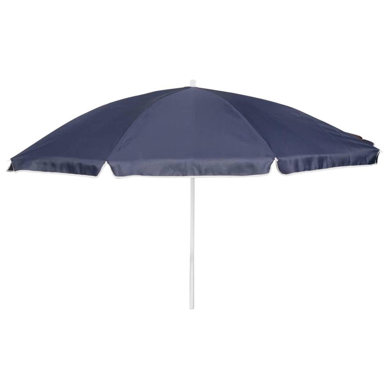 Bo Camp Parasol 165 cm blauw