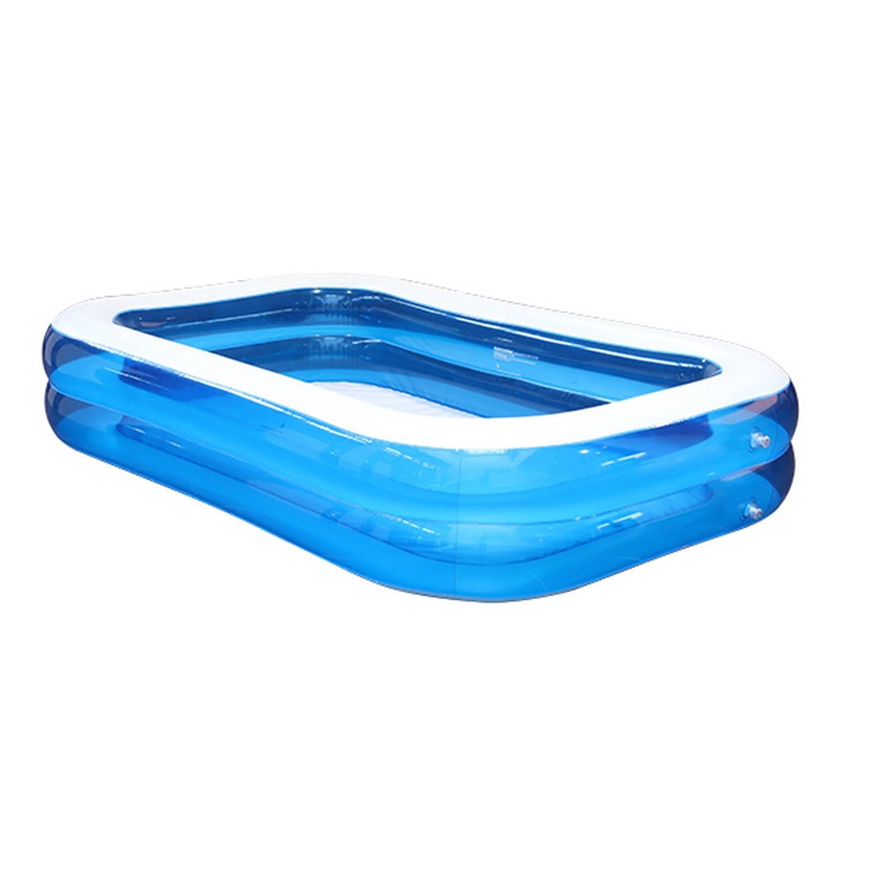 Opblaasbare Zwembad Blauw 211 x 132 x 46 cm