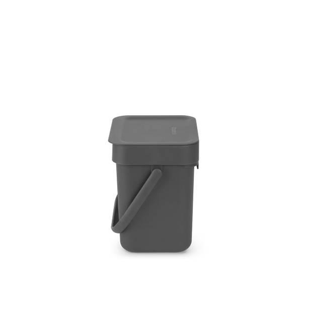 Brabantia Sort & Go afvalbakje 3 liter - Grey