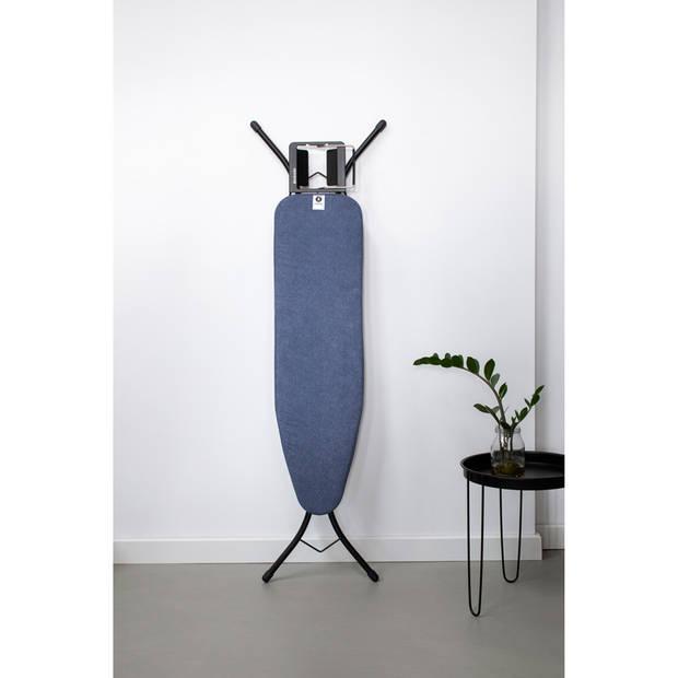 Brabantia Strijkplankhoes A, 110x30 cm, complete set - Denim Blue