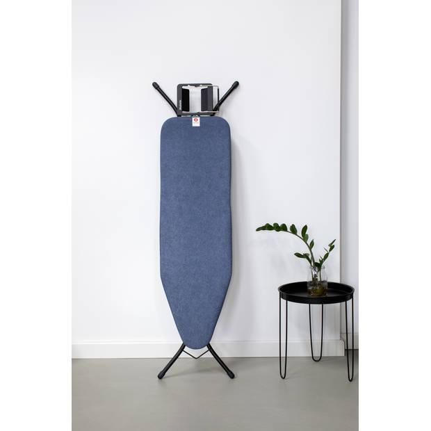 Brabantia Strijkplankhoes B, 124x38 cm, complete set - Denim Blue