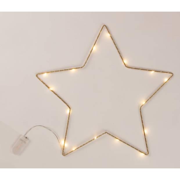 Blokker decoratieverlichting LED - Ster - 35x35x1 cm
