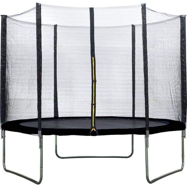 AMIGO trampoline met veiligheidsnet 305 cm zwart