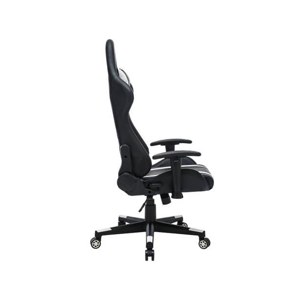 Gamestoel Bureaustoel voor volwassenen Prozo zwart wit Gaming stoel