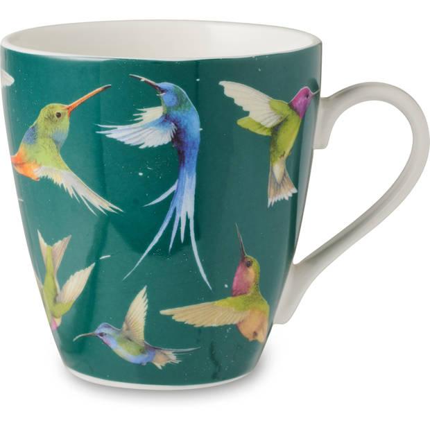 Marjolein Bastin mok Hummingbirds groen 32cl