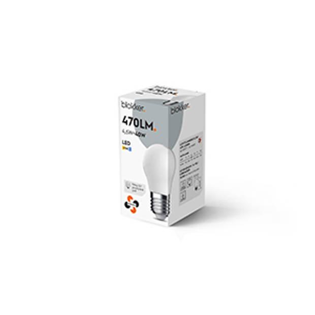 Blokker LED Kogel G45 40We27 Mat