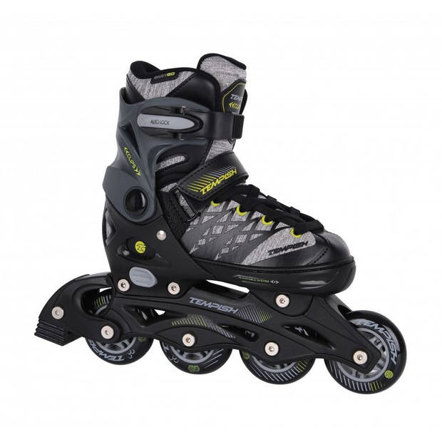 Tempish clips skates zwart