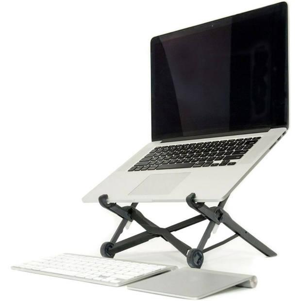 Silvergear Opvouwbare Laptop Standaard - Instelbare Hoogte - Universeel - Zwart