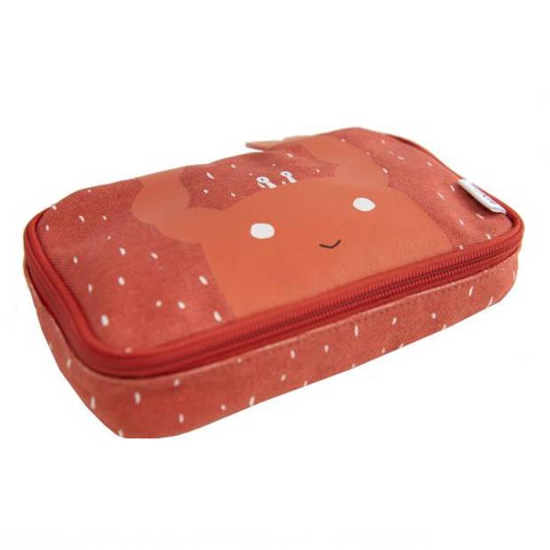 Trixie etui Mrs. Crab 20 x 12 x 5 cm rood
