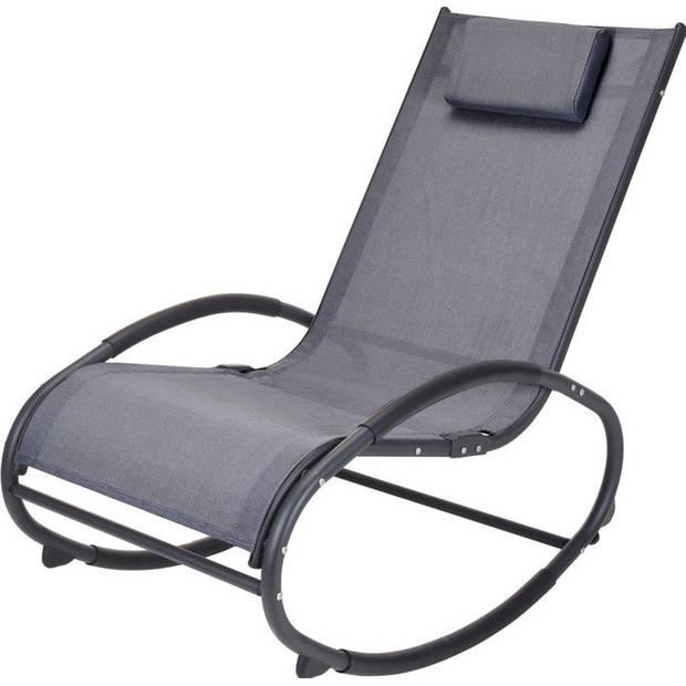 Schommelstoel voor in de tuin - stevige kwaliteit - uniek - inclusief kussens