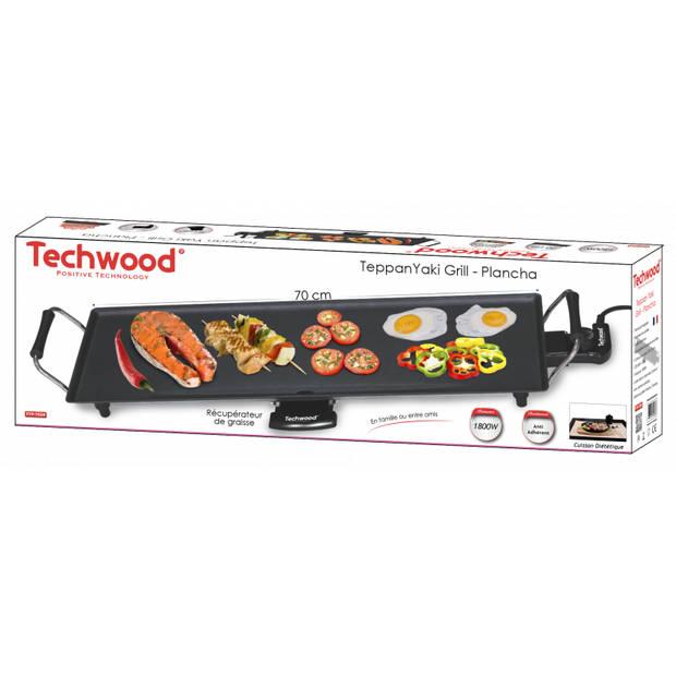 Techwood teppan yaki grillplaat xl