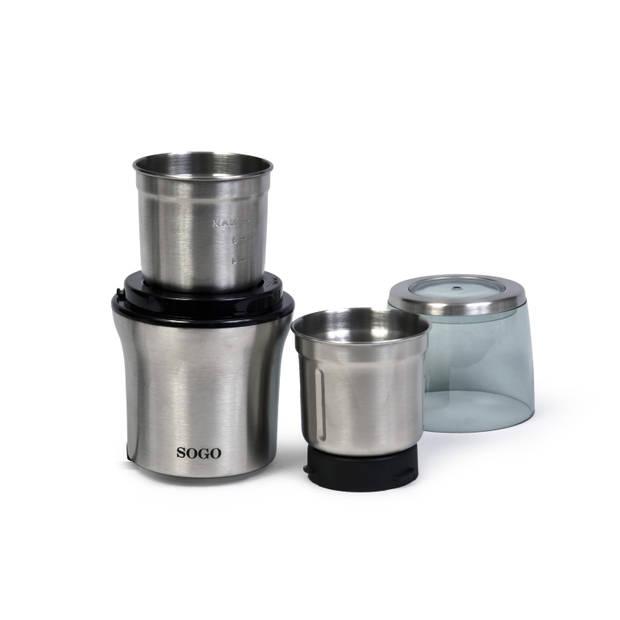 Sogo multifunctionele koffie- en specerijenmolen wet & dry