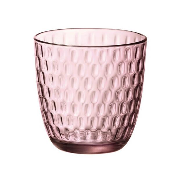 Bormioli Glazen Slot Roze 29 cl - 6 Stuks