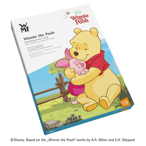 WMF Kinderbestek Kids Disney Winnie de Poeh 3-Delig