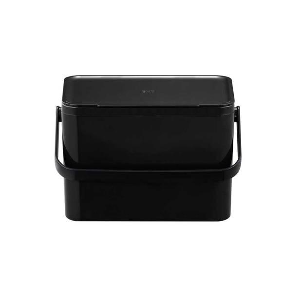 EKO Food Caddy - 4 liter - Zwart
