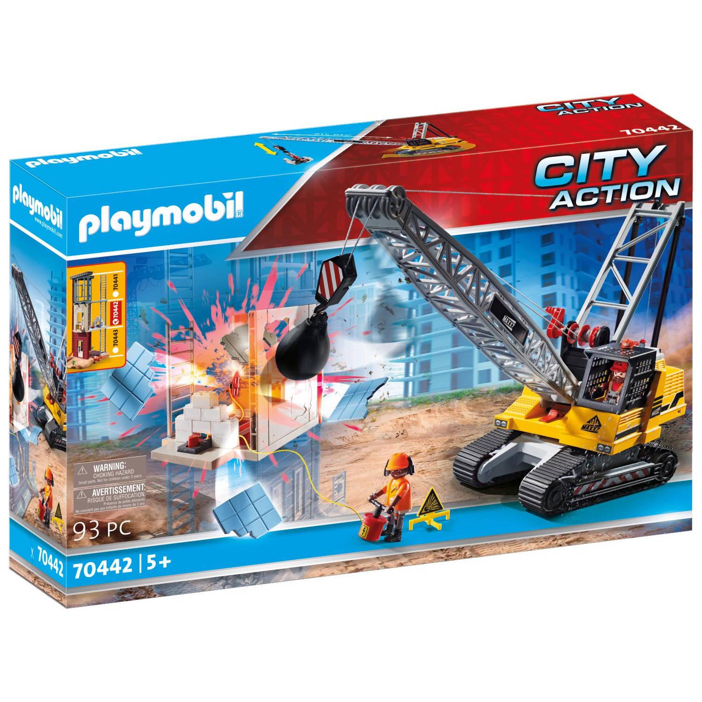 PLAYMOBIL City Action Kabelgraafmachine (70442)