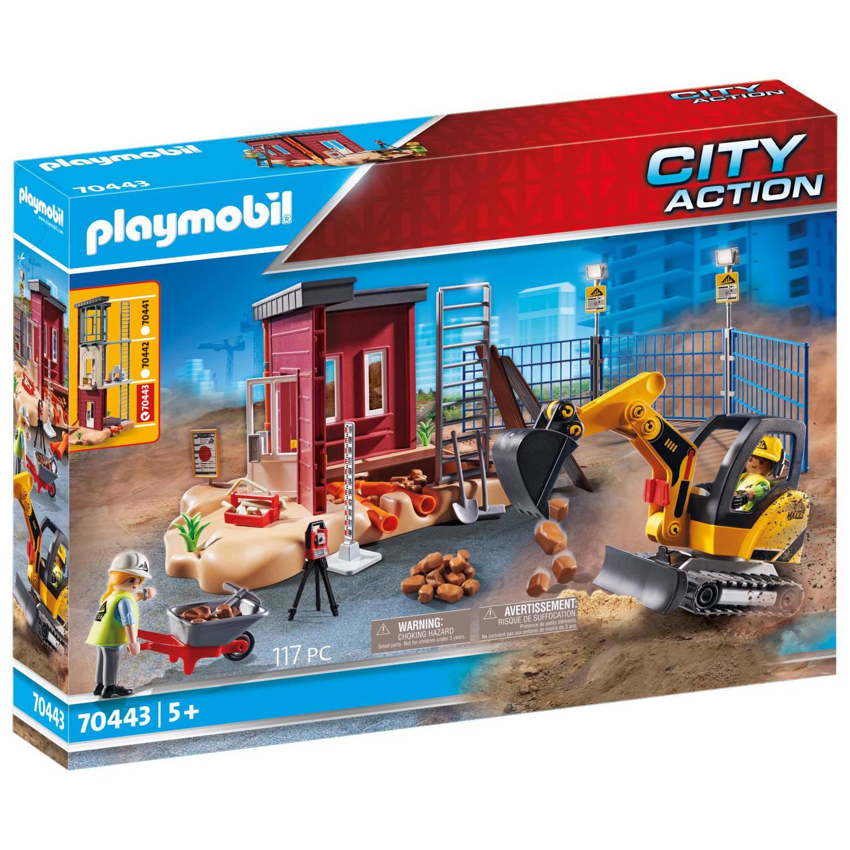 PLAYMOBIL City Action Mini Graafmachine (70443)