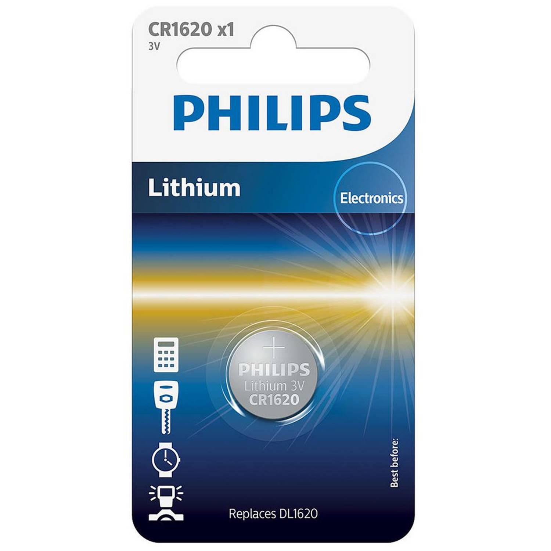 Korting Philips Cr1620 00b Minicells Alkaline Batterij