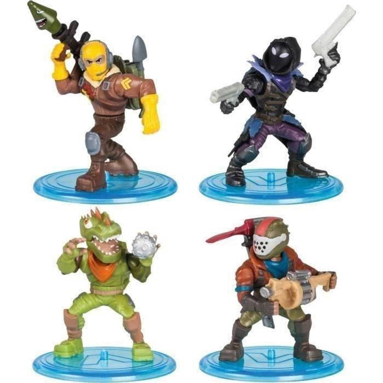 Afbeelding van FORTNITE Battle Royale - Squad Pack 4 beeldjes - Raptor, Rust Lord, Rex, Raven