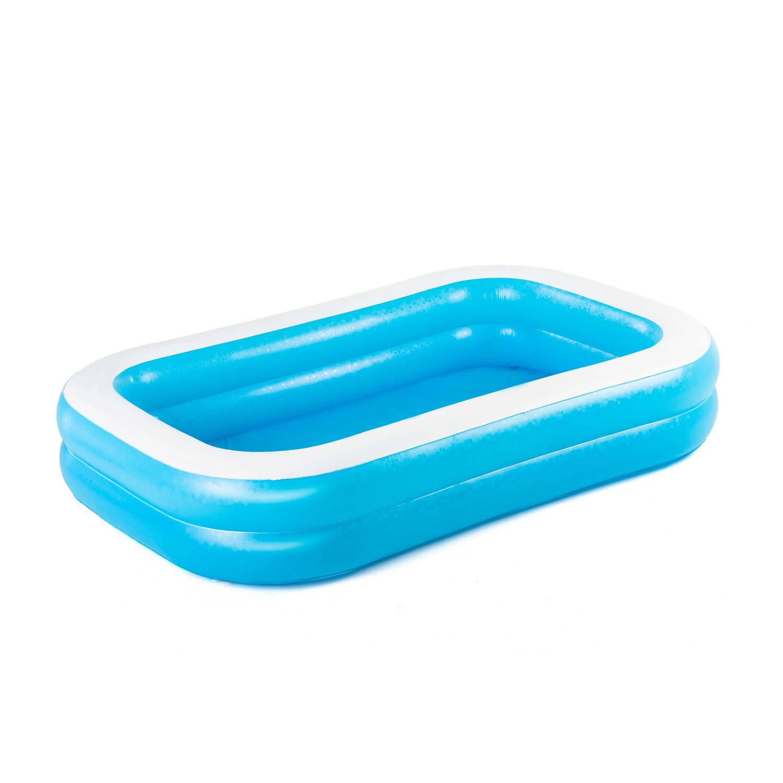 Bestway familiezwembad blauw-wit 262x175x51 cm Leen Bakker