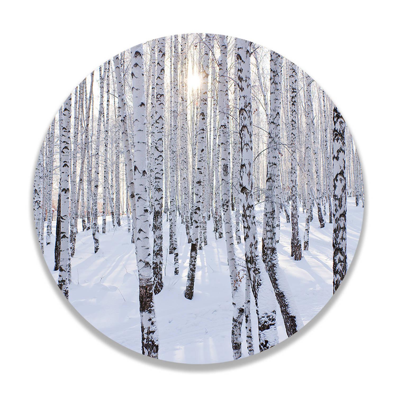 Wandcirkel Winter Wonderland
