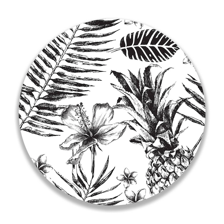 Wandcirkel Botanical