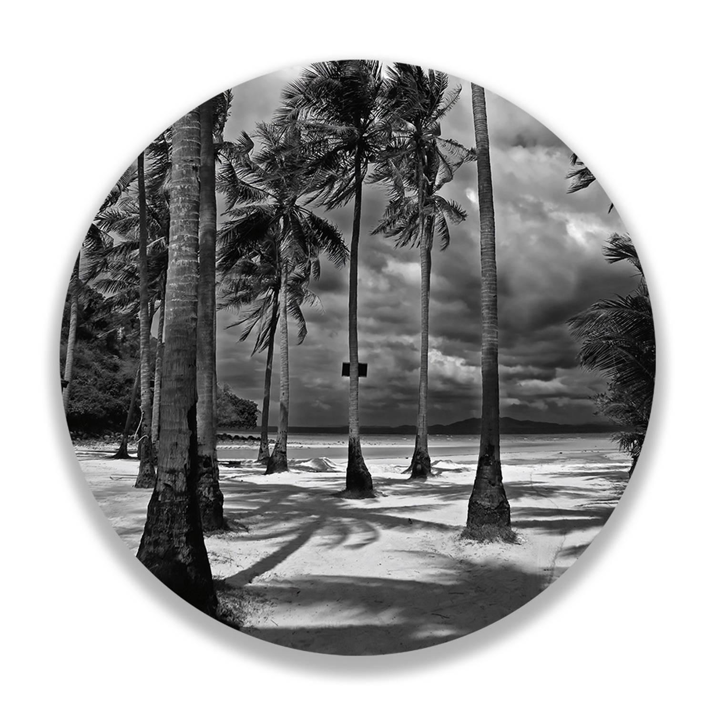 Wandcirkel Storm Beach