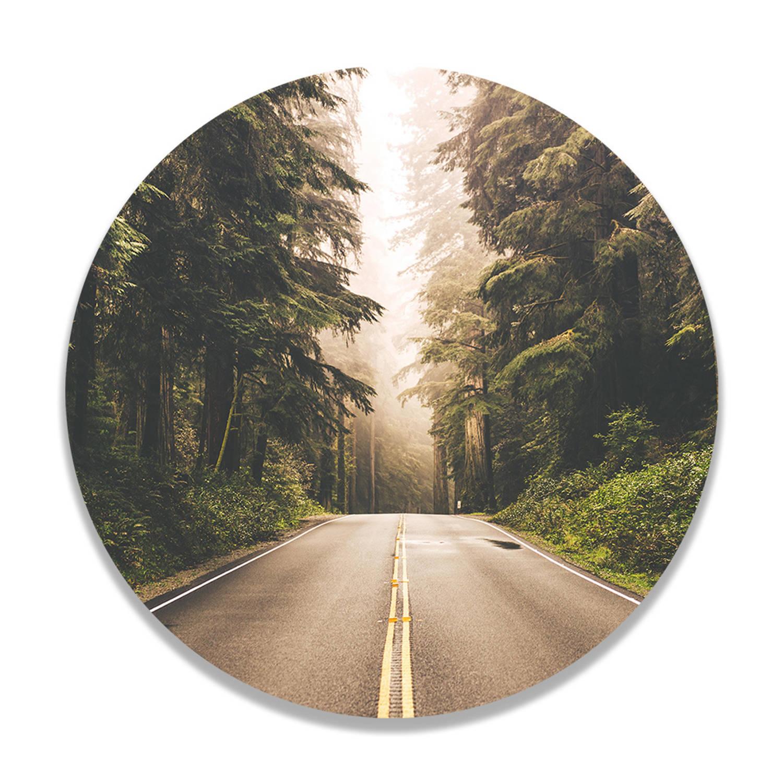 Wandcirkel On The Road