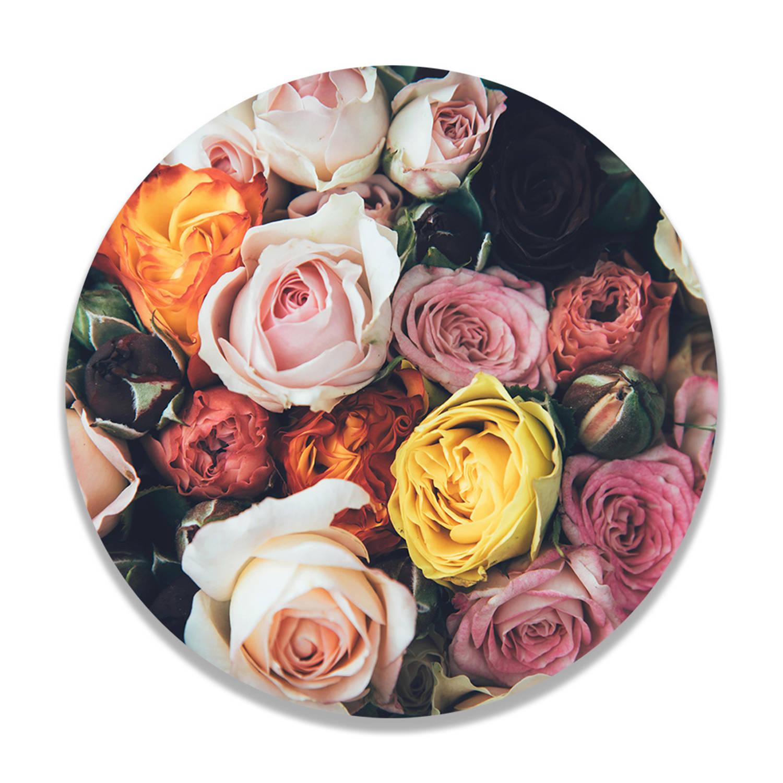 Wandcirkel Roses