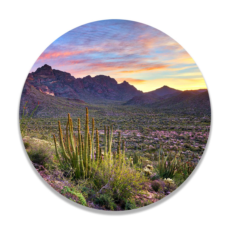 Wandcirkel Woestijn Landschap