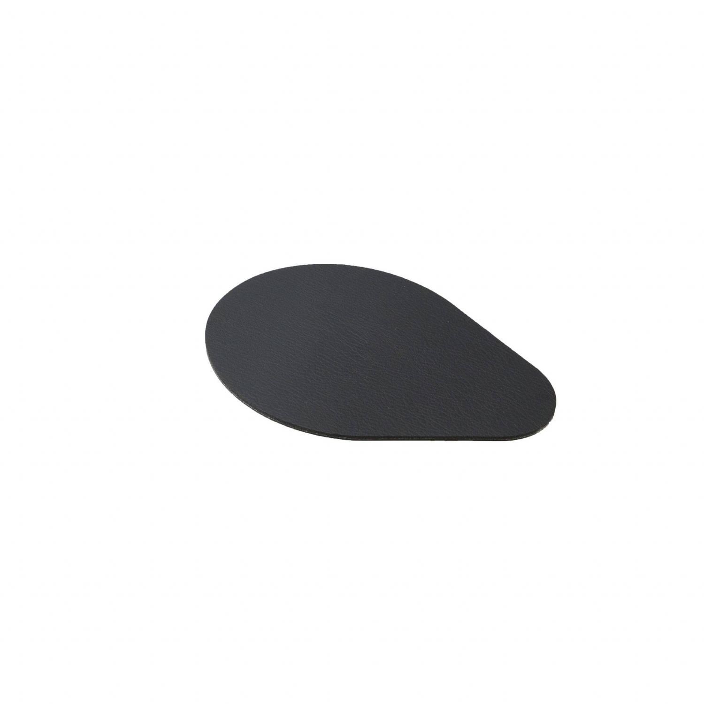 Point-virgule Onderzetter Moments Leer Zwart - 4 Stuks