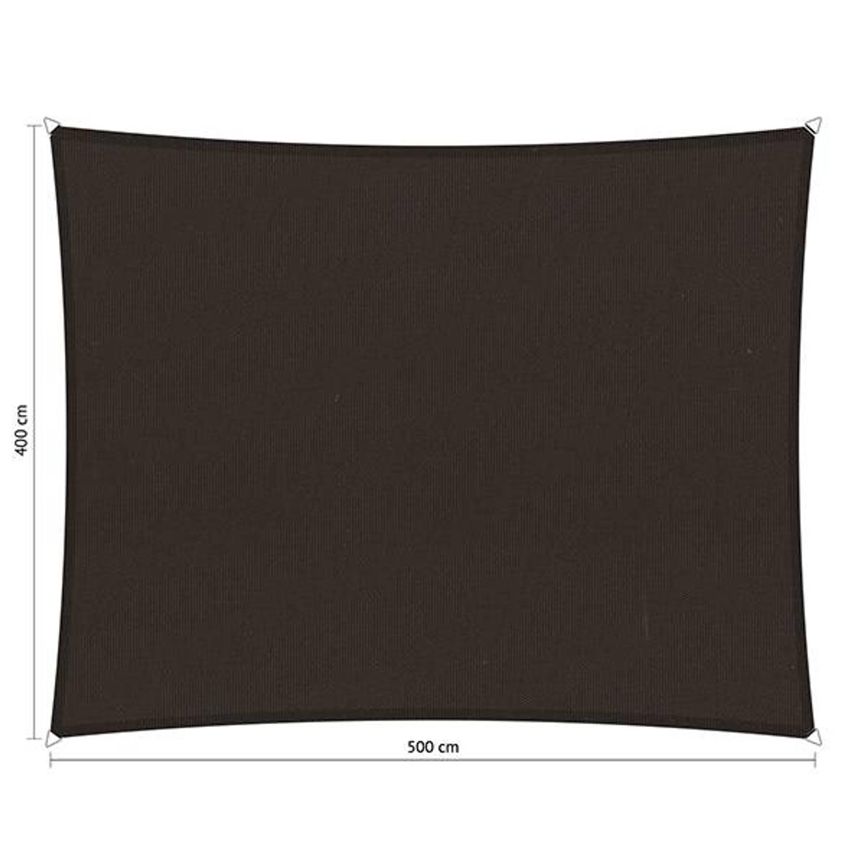 Shadow Comfort waterafstotend rechthoek 4x5 Bison