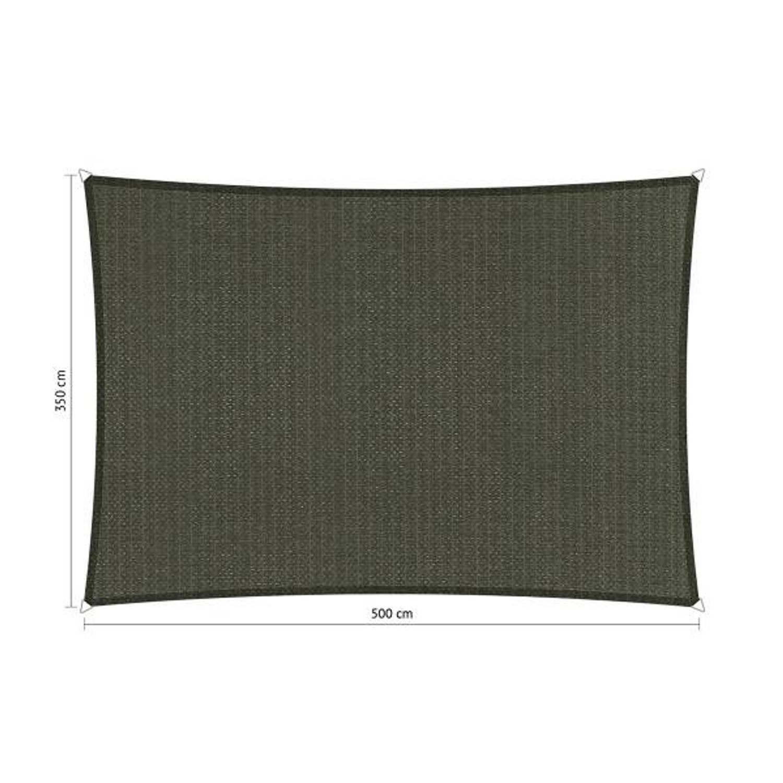 Shadow Comfort rechthoek 3,50x5 Deep Grey