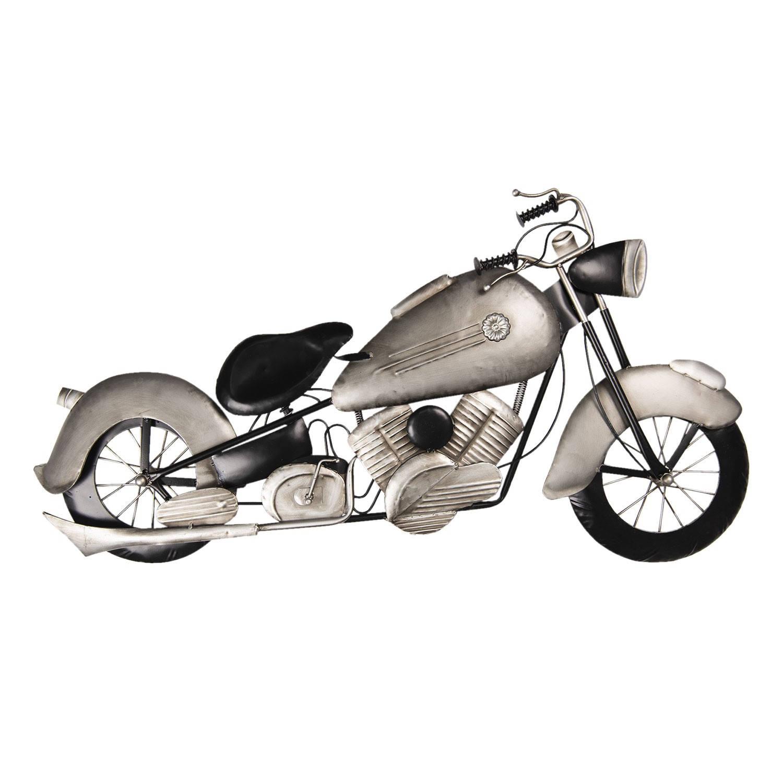 Clayre & Eef Wanddecoratie motor 98*6*54 cm Meerkleurig Ijzer Motor 5W6Y3617