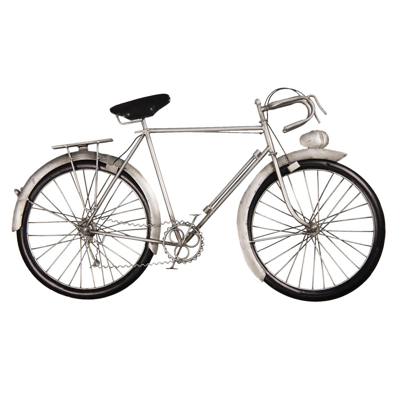 Clayre & Eef Wanddecoratie fiets 62*5*34 cm Meerkleurig Ijzer Fiets 5W6Y3614