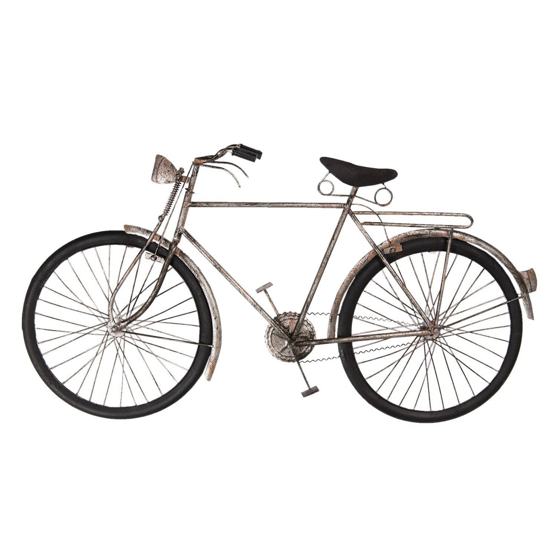 Clayre & Eef Wanddecoratie fiets 90*6*48 cm Meerkleurig Ijzer Fiets 5W6Y3615