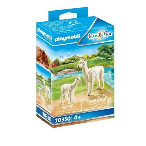 Playmobil Family Fun alpaca met baby 70350