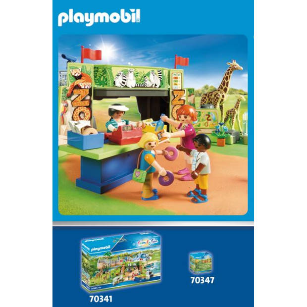 Playmobil Family Fun koppel ringstaartmaki's 70355
