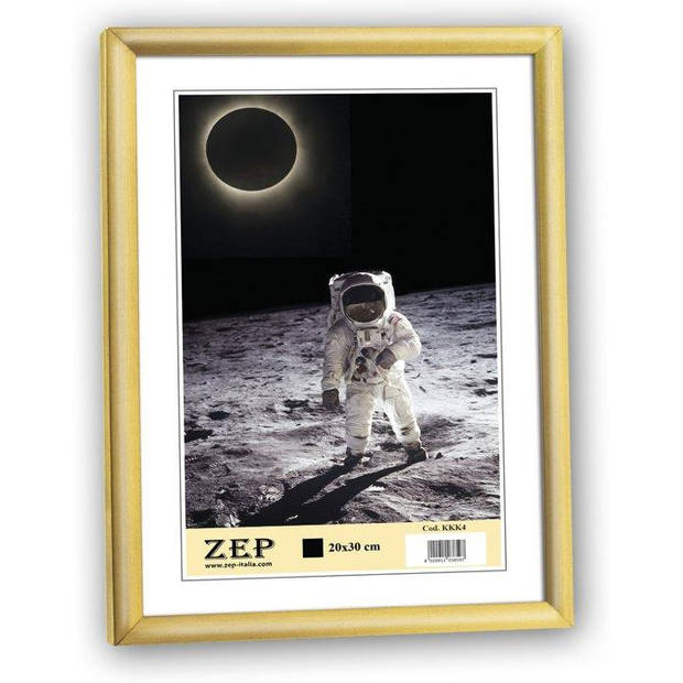 """ZEP - Kunststof Fotolijst """"New Easy"""" Goud voor foto formaat 30x40 - KG5"""