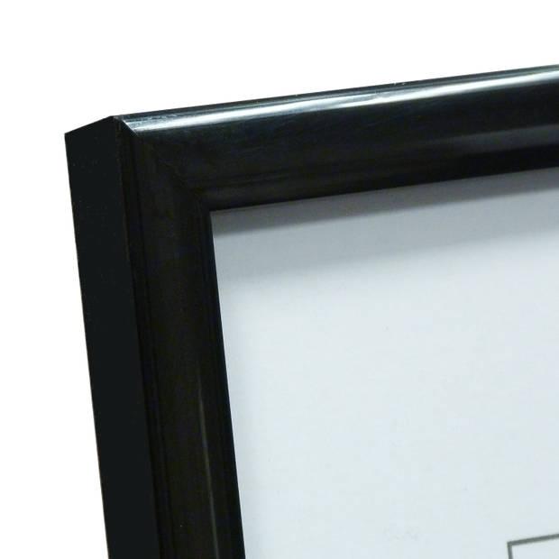 """ZEP - Kunststof Fotolijst """"New Easy"""" Zwart voor formaat 50x50 - KB18PS"""