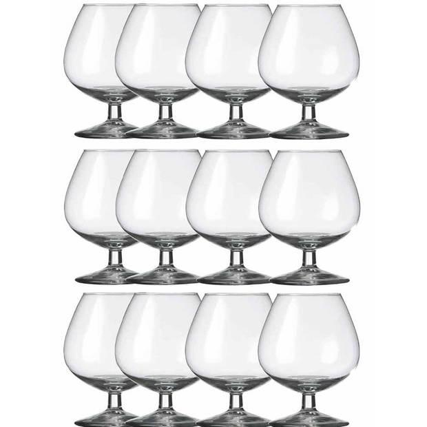 12x Cognacglazen transparant 800 ml Specials