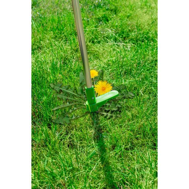 Kinzo Garden onkruidsteker - zonder knielen of bukken - verwijdert onkruid met wortel en al