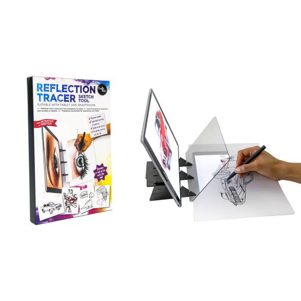 Crafts & Co Smartphone Beeldprojector Teken Projector - Voor Smartphone en Tablet
