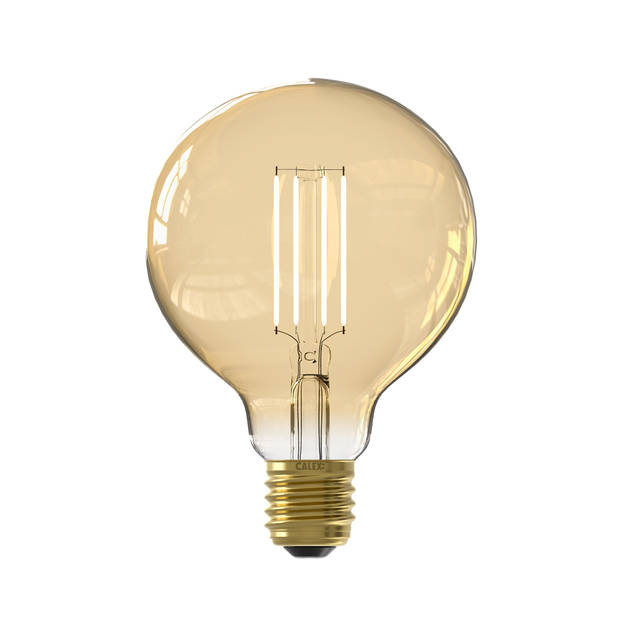 Calex smart led globe G95 goud 7Watt E27