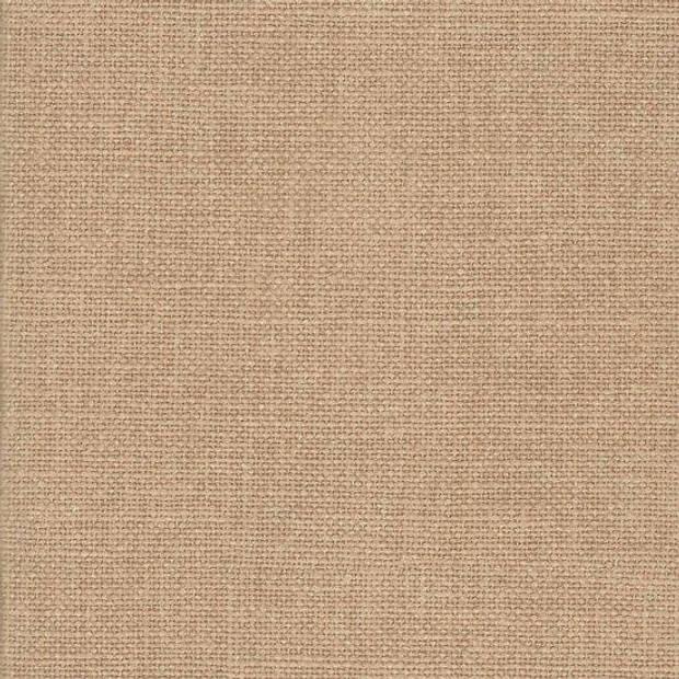 FotoHolland -Zelfklevend Fotoalbum 20x20 cm - 12 pagina's wit Canvas bruin / beige - TEC202012BE